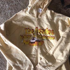 The Beatles yellow submarine zip up hoodie
